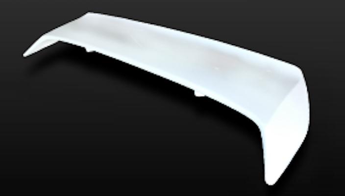 Rear Spoiler (Type 1) - Construction: FRP - Colour: Unpainted - GCOR-F180SXT1-RS