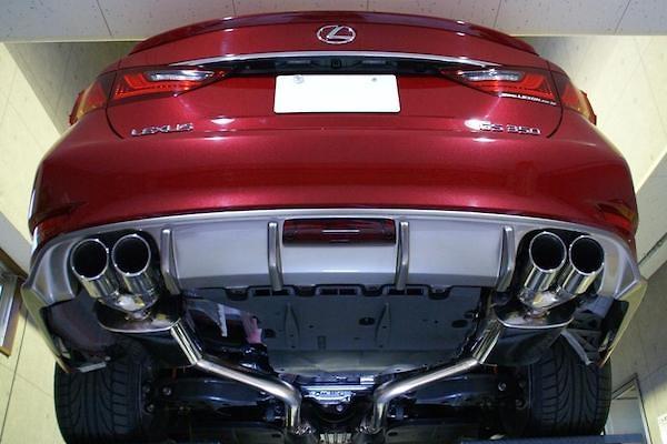 Lexon - L:Exhaust Quad for Lexus GS