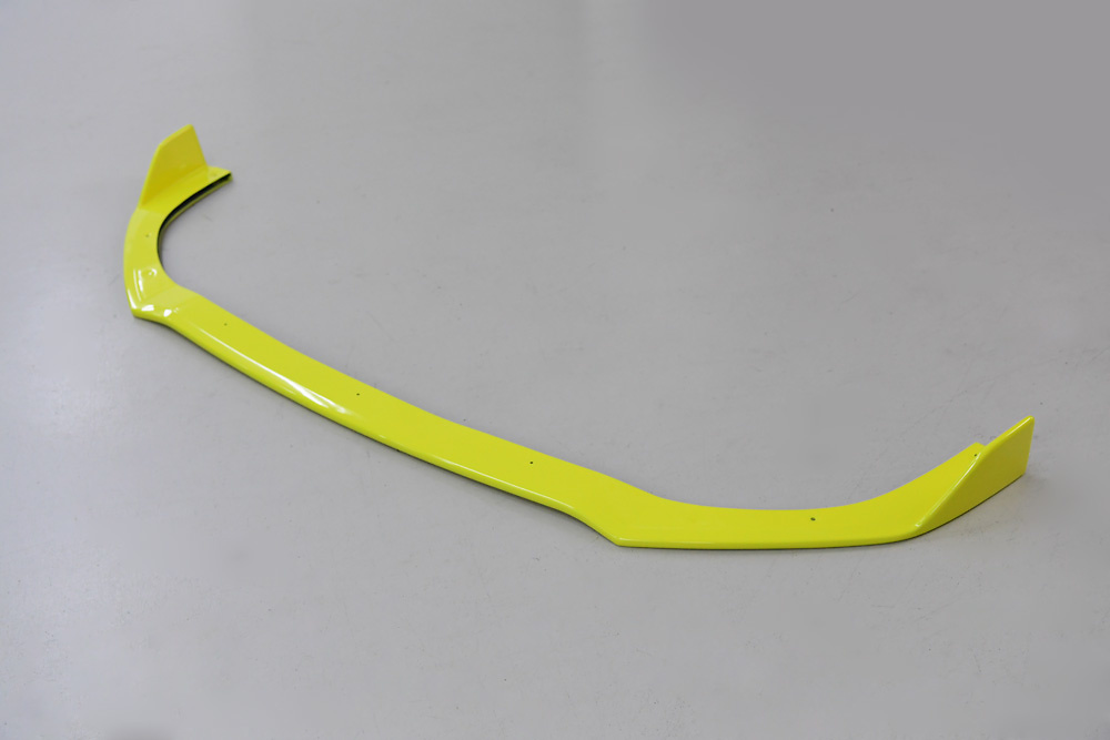 Front Lip Spoiler Ver. 1 - Construction: FRP - Colour: Champion Yellow - Z33S-FS-ZFT