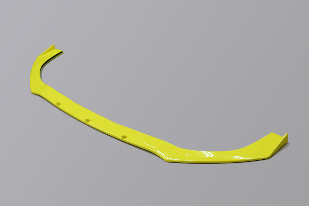 Front Lip Spoiler Ver. 2 - Construction: FRP - Colour: Champion Yellow - Z33S-FS2-ZFT