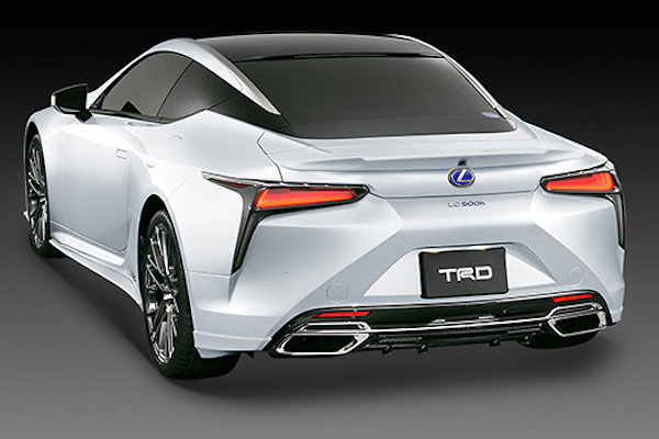 TRD - Lexus LC Aero Parts