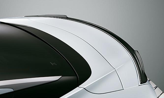 Rear Spoiler - Construction: Resin(PPE) - Colour: Black (212) . . . C0 - Colour: Graphite Black Glass Flakes (223) . . . C2 - Colour: White Nova Glass Flake (083) . . . A1 - MS342-11001-##