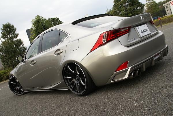Lexon - L:Exhaust Quad for Lexus IS