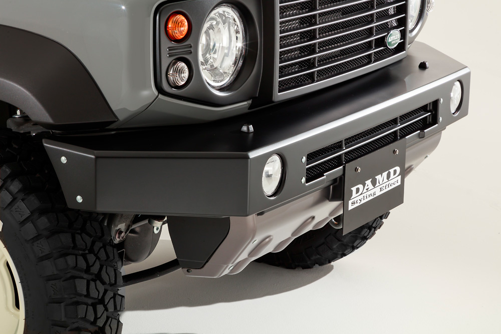 Front Bumper for SIERRA - Colour: Coarse Matte Black - DAMD-JSLD-FB