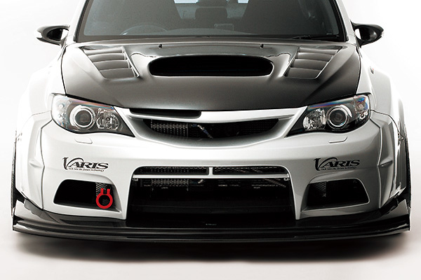 Front Bumper + Under Lip (for Wide Fender) - Construction: FRP(Bumper)/Carbon(Lip) - Colour: Unpainted - VASU-114