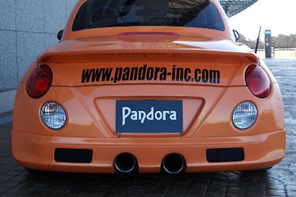Pandora Inc - Euro Tec Daihatsu Copen Aero Parts