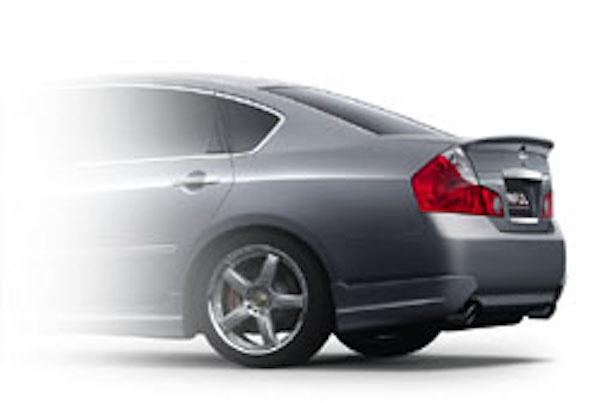 Rear Side Guard (for 2.5L / 3.5L cars) - Construction: FRP - Colour: Unpainted - IMP-650S-RSG