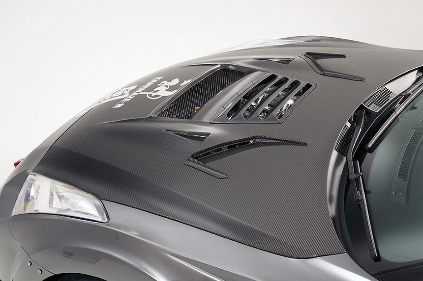Cooling Bonnet Ver.2 - Construction: Carbon - VBNI-119