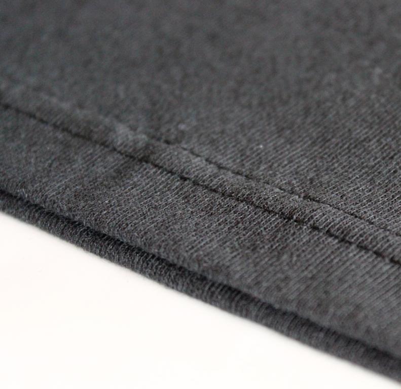 Size: Extra Large (XL) - Size: Large (L) - Size: Medium (M) - Colour: Black - GA-COTTON-BLACK