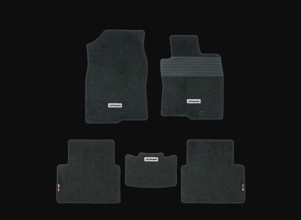 Color: Black - Quantity: 5 - 08P15-XNCD-K0S0-BK