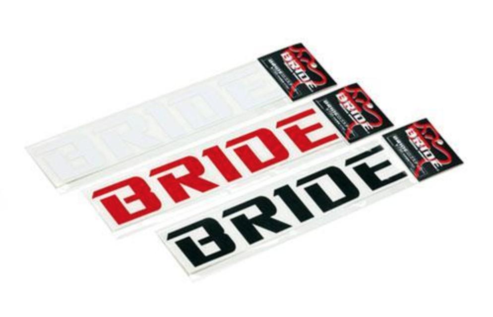 Bride - Logo Vinyl Sticker
