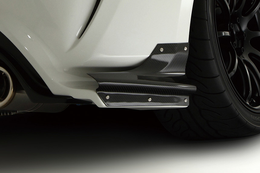Rear Bumper Option Part: Air Shroud (Left and Right Set) - Construction: Caarbon - VATO-054