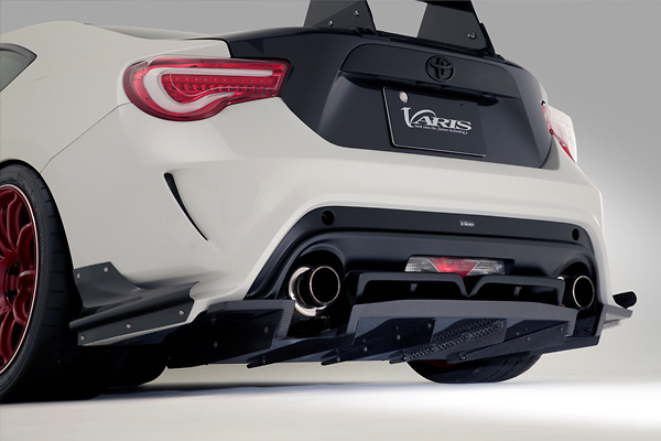 Rear Diffuser for Varis Rear Bumper - Construction: Half Carbon - VATO-105
