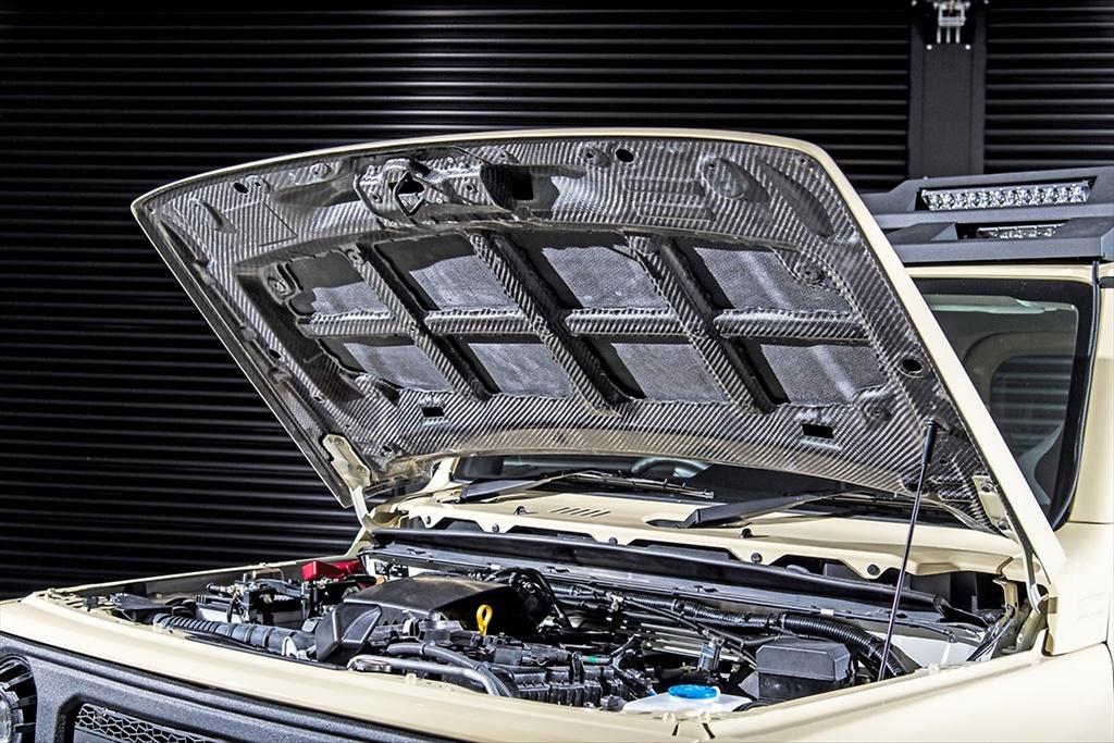 Carbon Bonnet - Construction: Carbon - Colour: Unpainted - AIM-MT8CB-JB74W