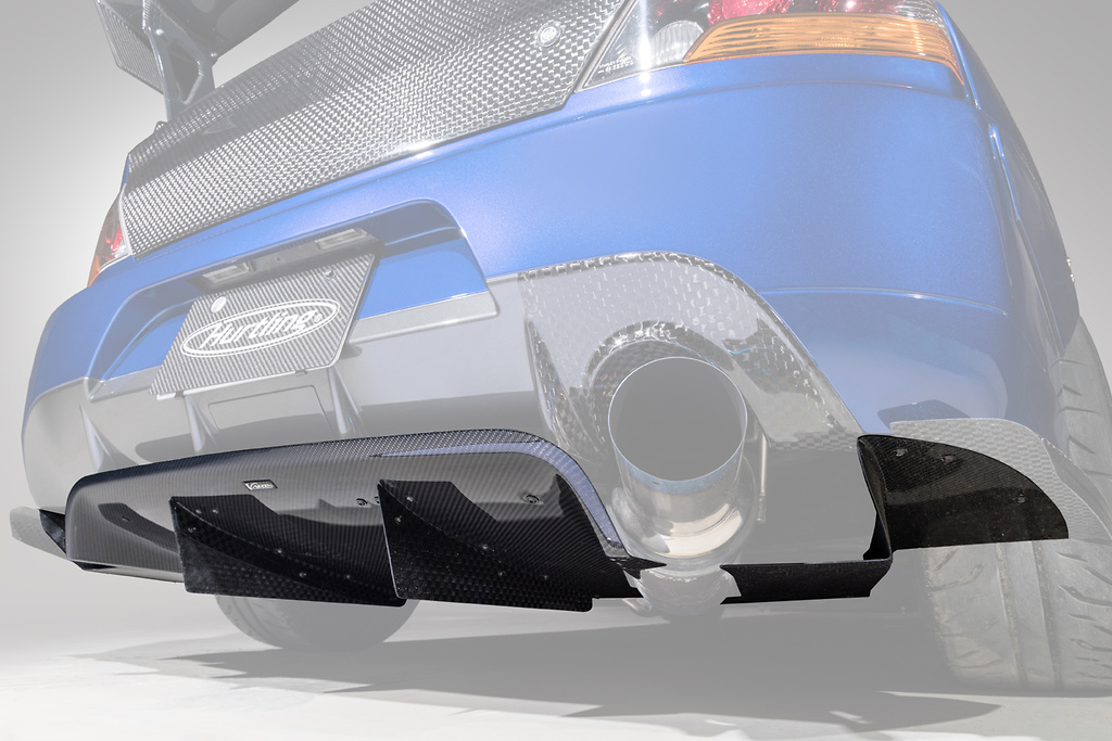 Rear Diffuser ~VARIS Collaboration Version~ - Construction: Carbon - HAM003C
