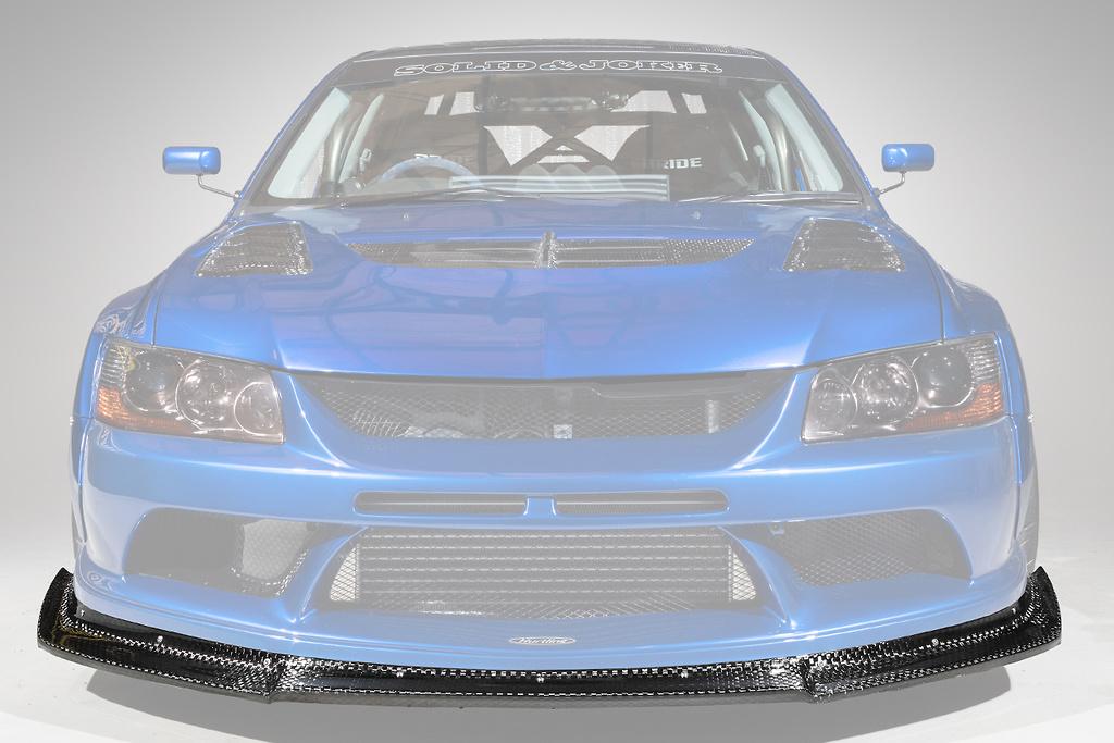 Front Lip - Construction: FRP + 12K Carbon - Colour: Unpainted - HAM005C