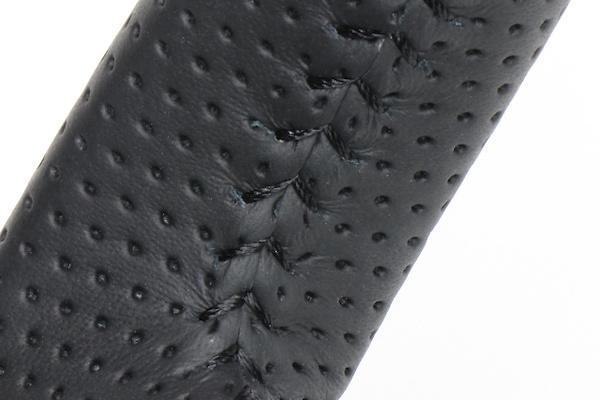 Type: Soft D Shape - Color: 42 Brown Wood - Stitch: Black - SZB-42BRW-BK