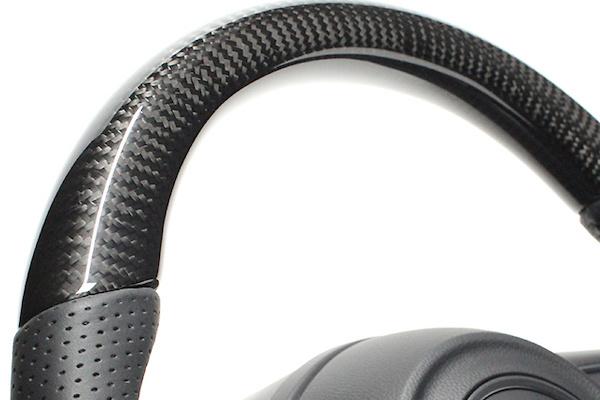 Type: Soft D Shape - Color: Black Carbon - Stitch: Black - SZB-BKC-BK