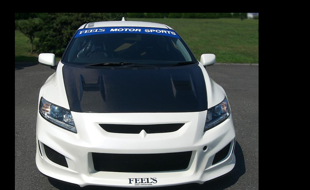 Sports Front Bumper - Construction: FRP - Colour: Unpainted - FEELS-APZF-SFBa