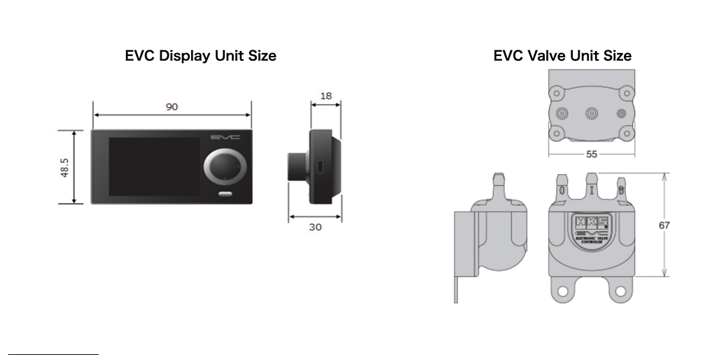 HKS - EVC 7th Generation Boost Controller