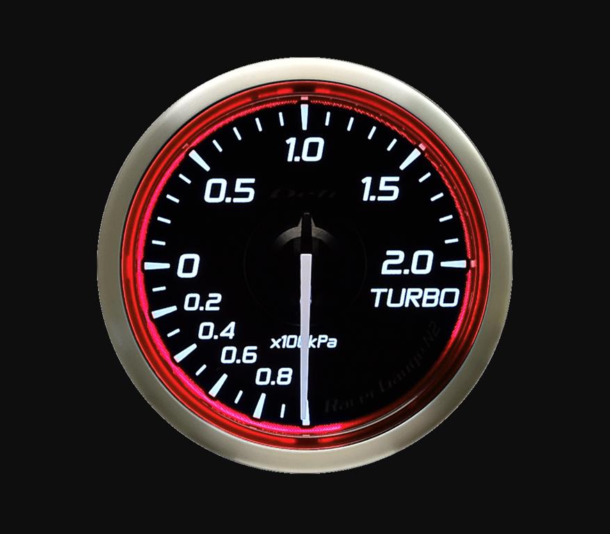 Type: Turbo - Color: Red - Diameter: 52mm - Range: -100kPa to 200kPa - DF16003