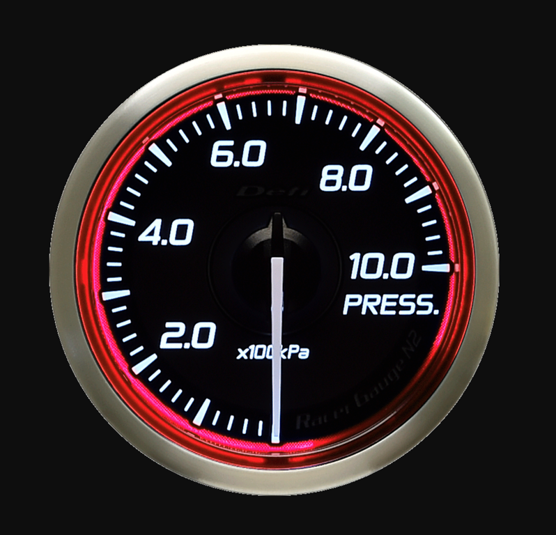 Type: Pressure - Color: Red - Diameter: 52mm - Range: 0-1000kPa - DF16203