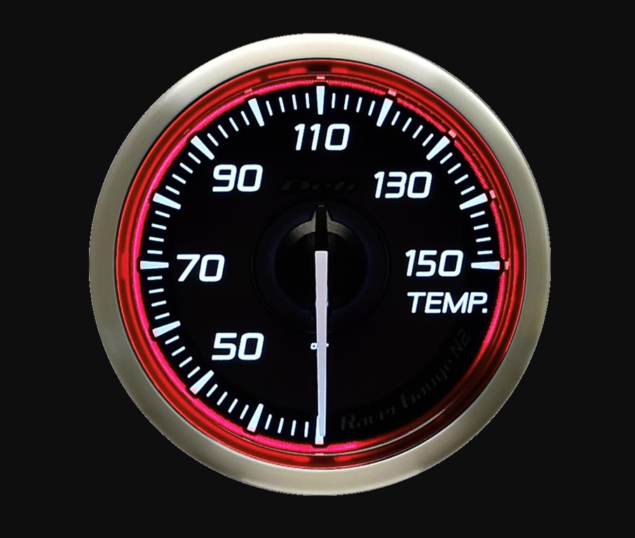 Type: Temperature - Color: Red - Diameter: 52mm - Range: 30-150C - DF16303