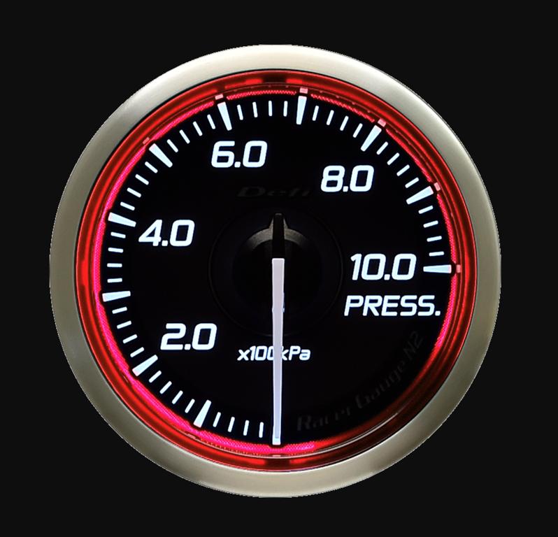 Type: Pressure - Color: Red - Diameter: 60mm - Range: 0-1000kPa - DF16803