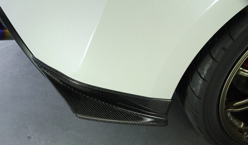 Rear Side Spoiler - Construction: Carbon - KAT612