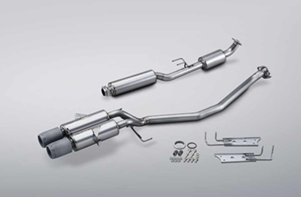 Pieces: 2 - Tail Size: 2x60.5mm - 18000-XNCF-K0S0