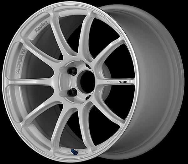 WMR: Racing White Metallic & Ring
