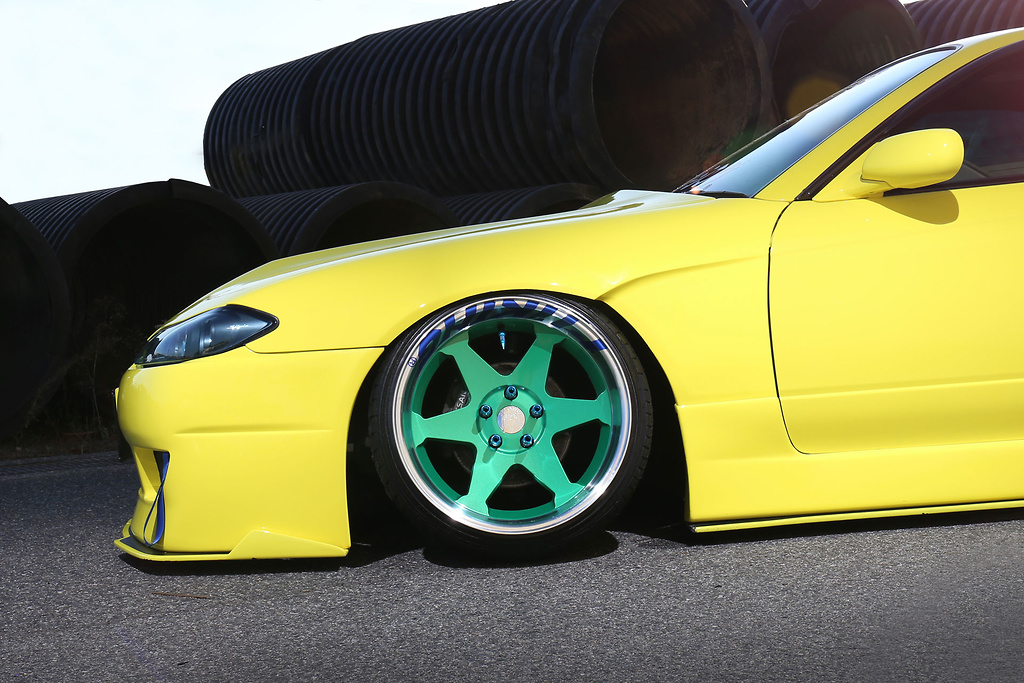Front Wide Fenders - 326P-GBMS15-FWF