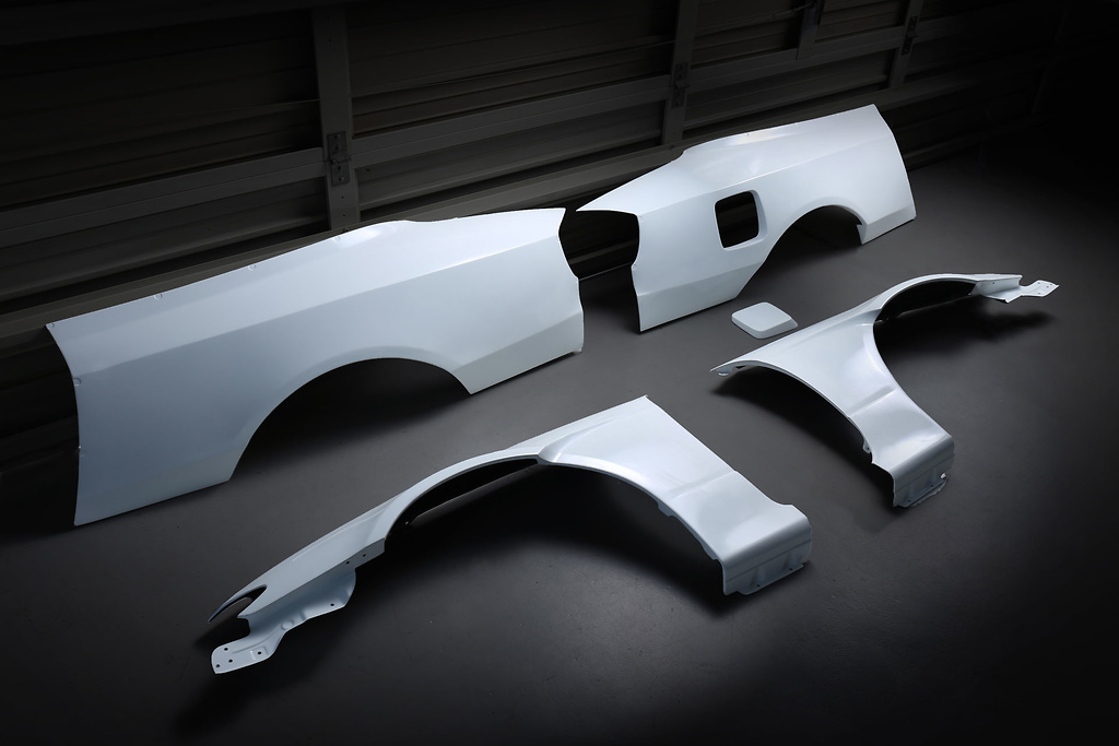 Full Wide Fender Set - Material: FRP - Type: Unpainted - 326P-GBMS15-FWFS