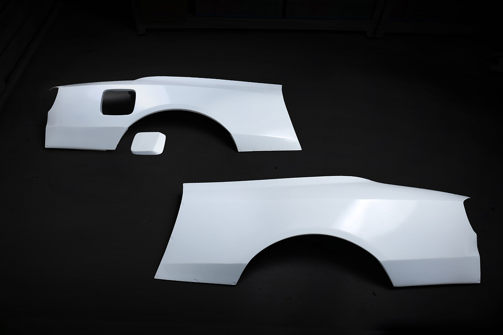Rear Wide Fenders - Material: FRP - Type: Unpainted - 326P-GBMS15-RWF