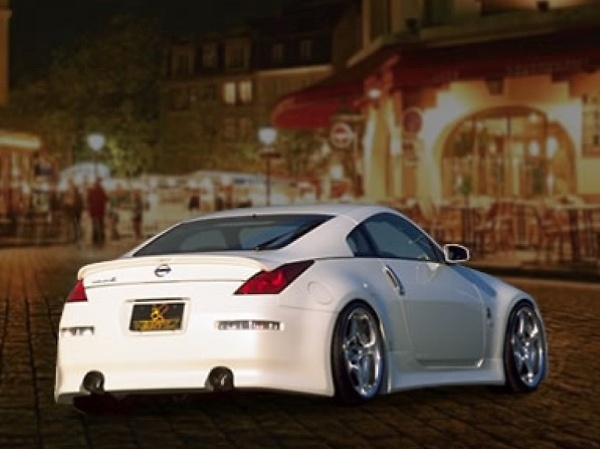 Car Make T&E - Vertex Fairlady Z (Z33) Bumper Ver. Aero Parts