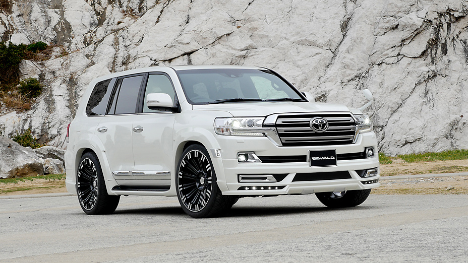 Wald - Sports Line Aero Parts for Land Cruiser