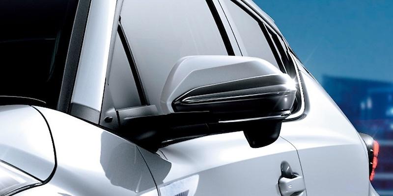 Aero Door Mirror Fin - Construction: Resin (ABS) - MS329-47001