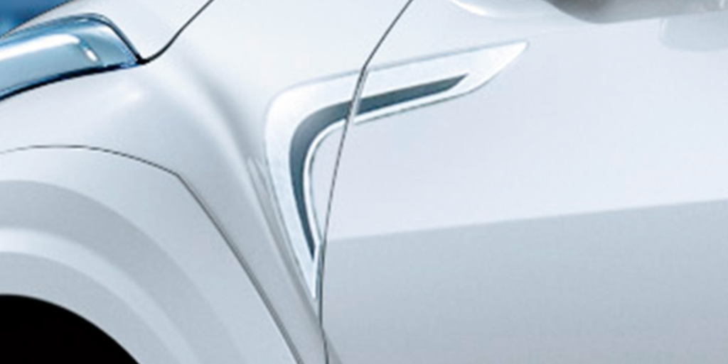 Fender Garnish - Construction: Resin (PVC) - MS372-10001