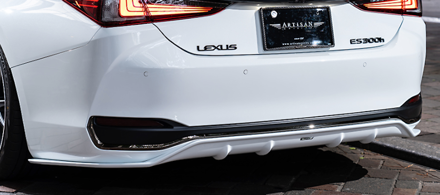 Rear Under Diffuser - Construction: FRP - Colour: Unpainted - AS-SLBL-AXZH10-RUD