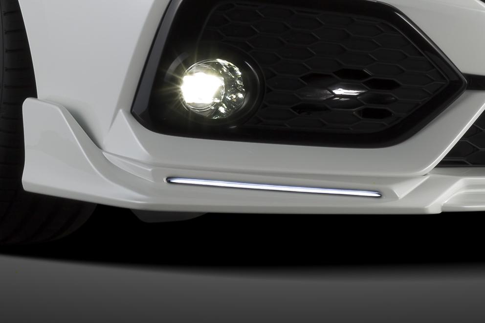 Front Lip Spoiler - Line LED