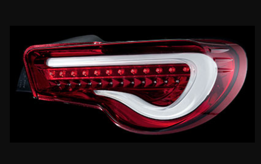 Color: Clear/Red - TT86Z-CR-2