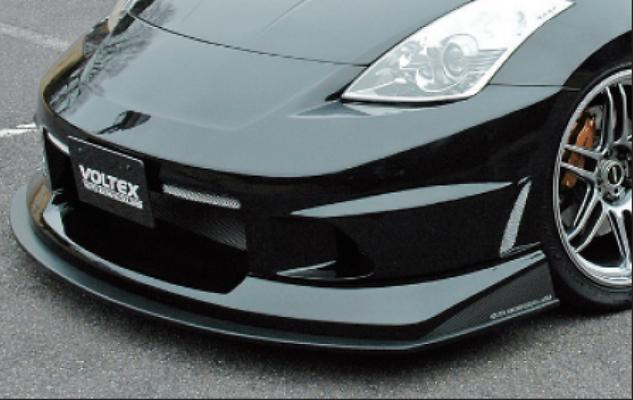 Front Bumper withWet Carbon Under Spoiler - Construction: FRP/Carbon - Colour: Unpainted - Z3B-4