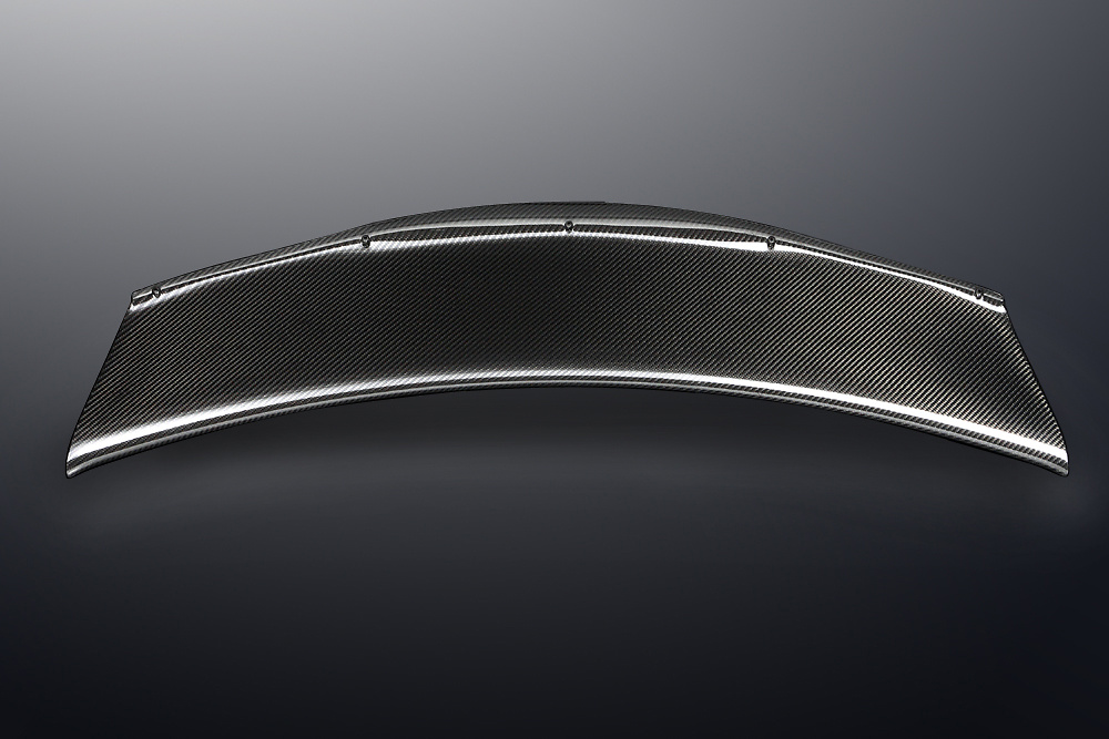 Mines - Carbon Rear Wing Cover