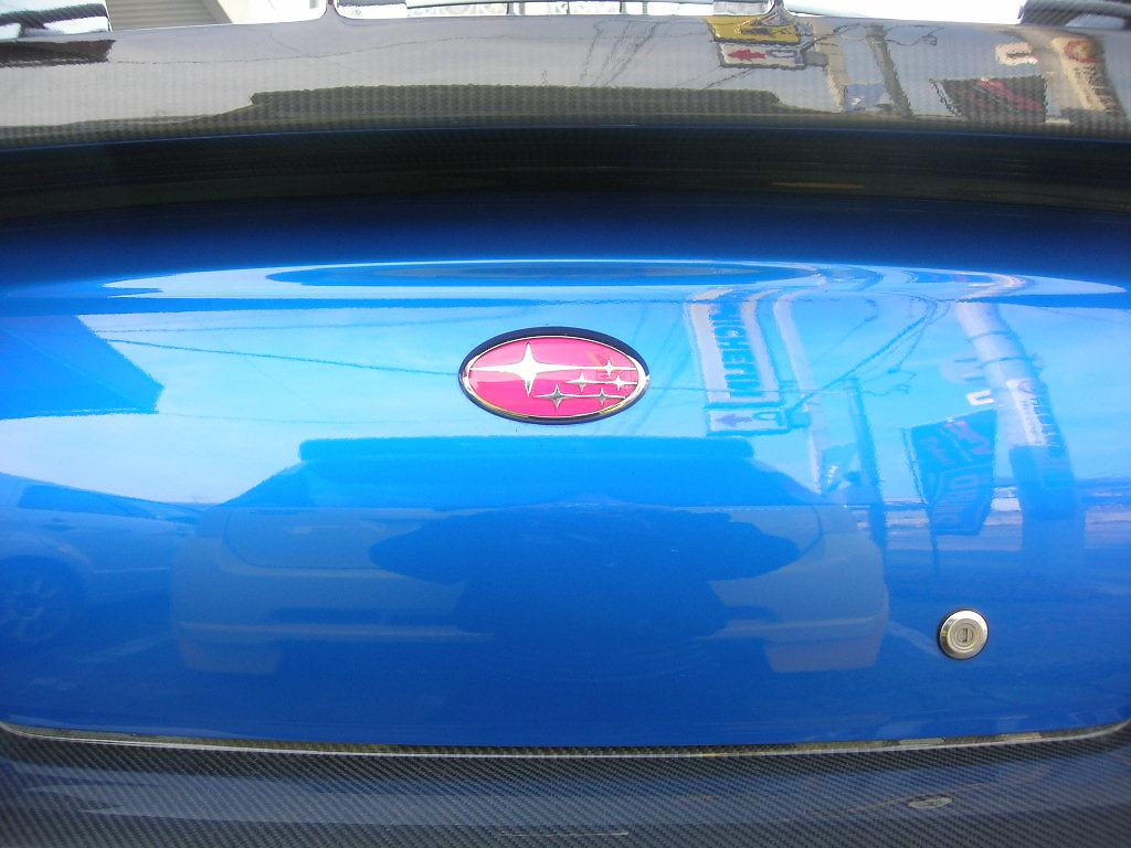 Type: Rear - Colour: Pink - Size: 6.5cm x 12cm - EMBLEM5