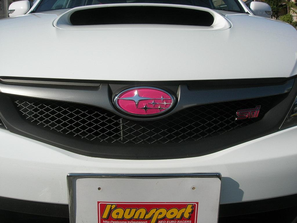 Type: Front - Colour: Pink - Size: 14.5cm x 7.2cm - EMBLEM6