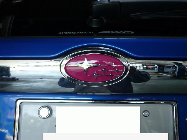 Type: Rear - Colour: Pink - Size: 11.4cm x 5.7cm - EMBLEM7