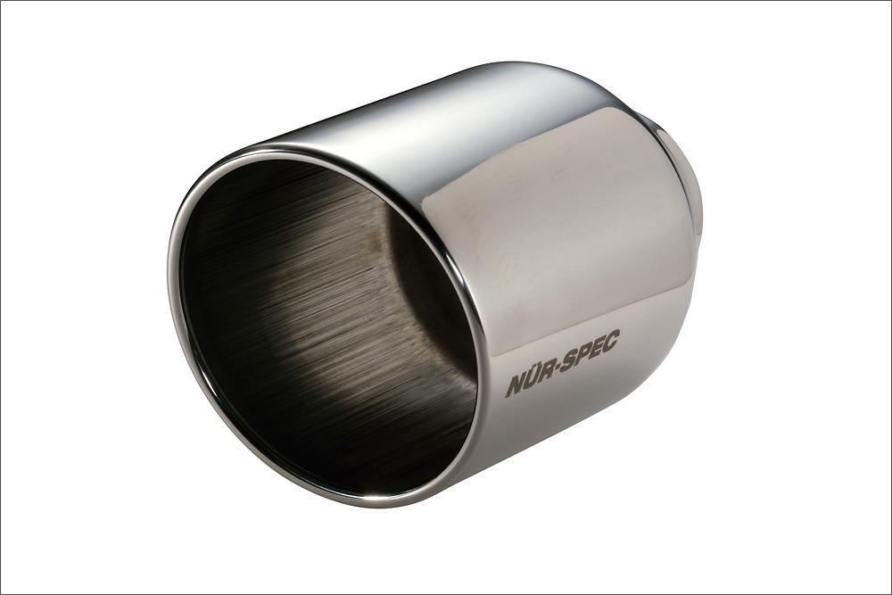 VS Tail - Color: Mirror Finish - Diameter: 108mm - Pipe Diameter: 52mm - 62207