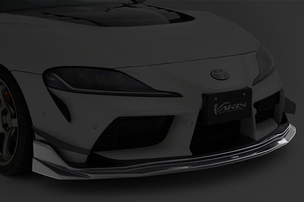 Front Spoiler - Construction: Carbon - Colour: Clear Finish - VATO-301