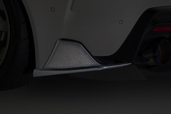 Rear Shrouds - Construction: Carbon - Colour: Clear Finish - VATO-304