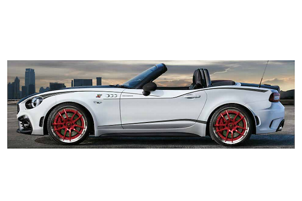 Three Hundred - Side Stripes for Abarth 124 Spider